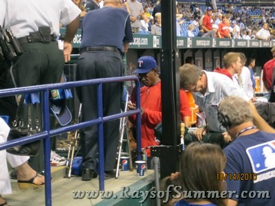 2010 ALDS, tampa bay rays, texas rangers, tropicana field, the trop, st pete, florida, world series